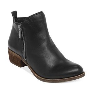 Beautiful black lucky brand booties